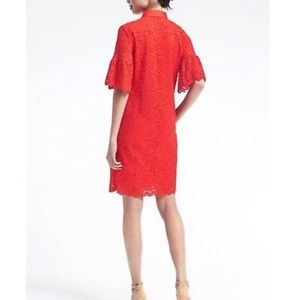 Banana Republic Dresses - Banana Republic Flutter Sleeve Cocktail Dress